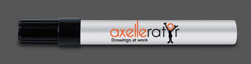 Axellerator - drawings at work